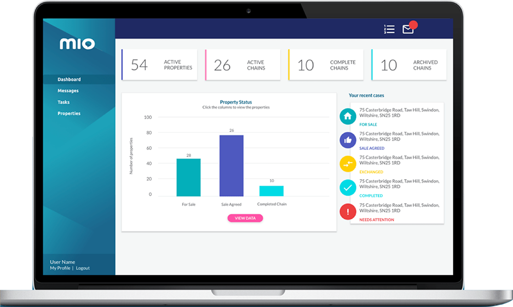 Mio Property Management Software for Estate Agents