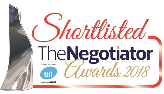 mio the negotiator awards 2018 shortlist