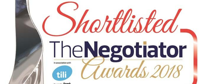 mio the negotiator awards 2018 shortlist